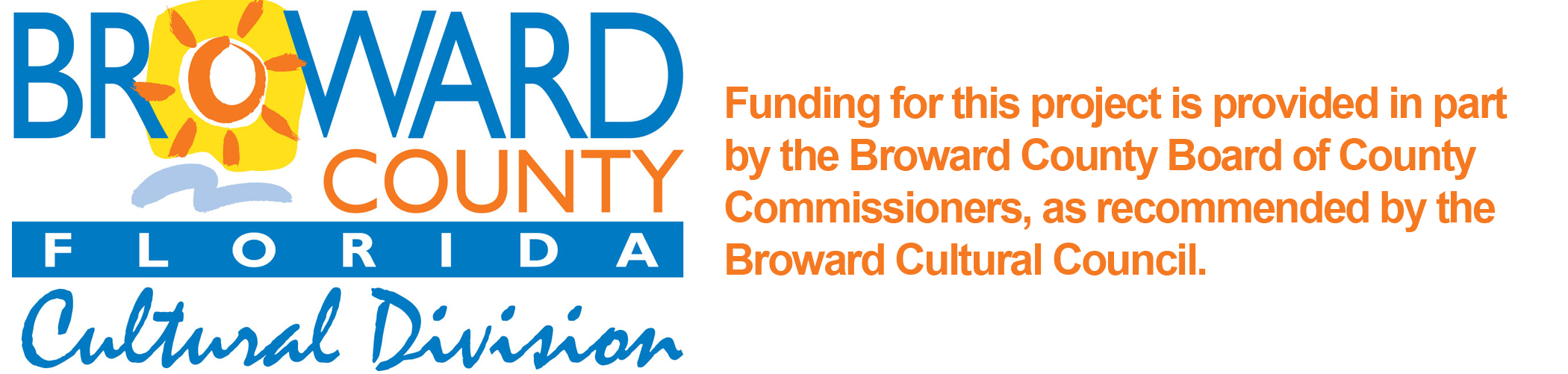 Broward County Cultural Division logo -color